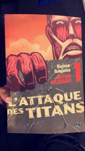 L'attaque des Titan Tome 1 Edition Colossale